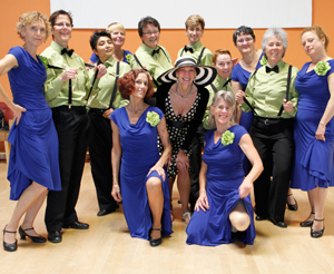 Performance Group of LEsbian Dancers 2011